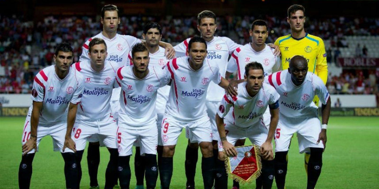 9. Sevilla Foto:AFP