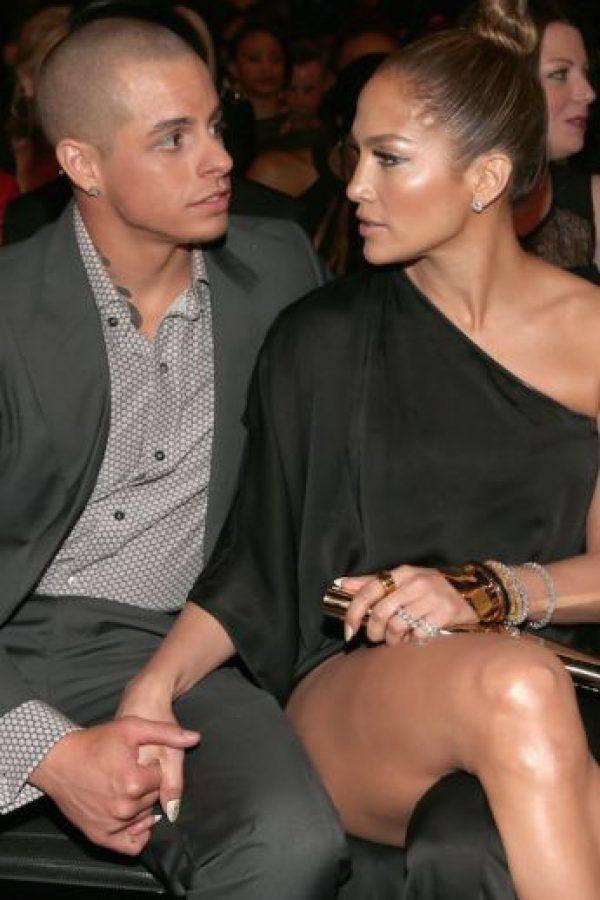 Después de su divorcio con Marc Anthony, López comenzó una relación con el bailarín Casper Smart quien es 18 años menor que ella. Foto:Getty Images