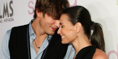 Demi Moore es 15 años más grande que Kutcher, pero esto no fue impedimento para que vivieran seis felices años de matrimonio. Foto:Getty Images