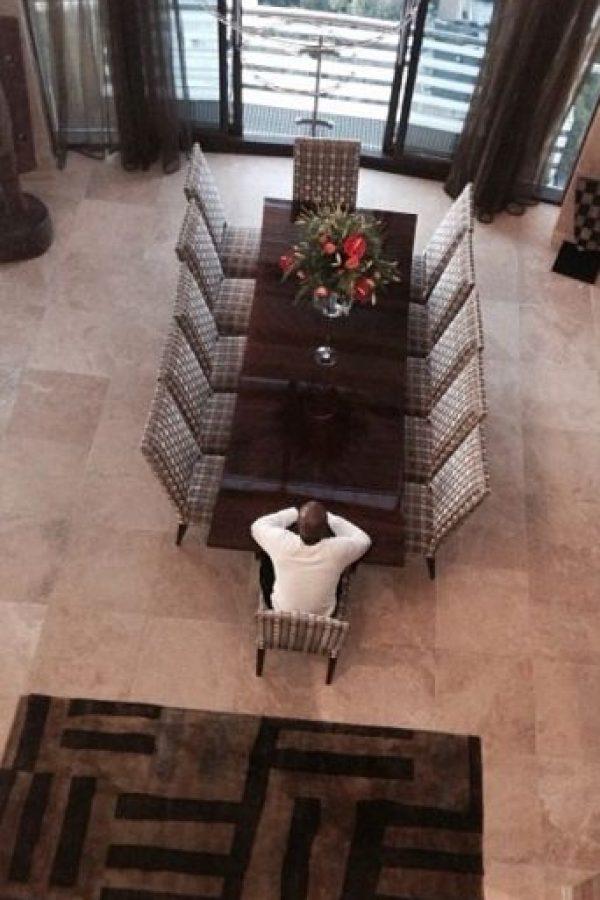 Un gran comedor para él solo. Foto:instagram.com/floydmayweather