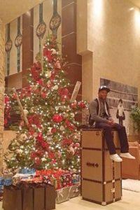 Gran decoración navideña Foto:instagram.com/floydmayweather instagram.com/floydmayweather