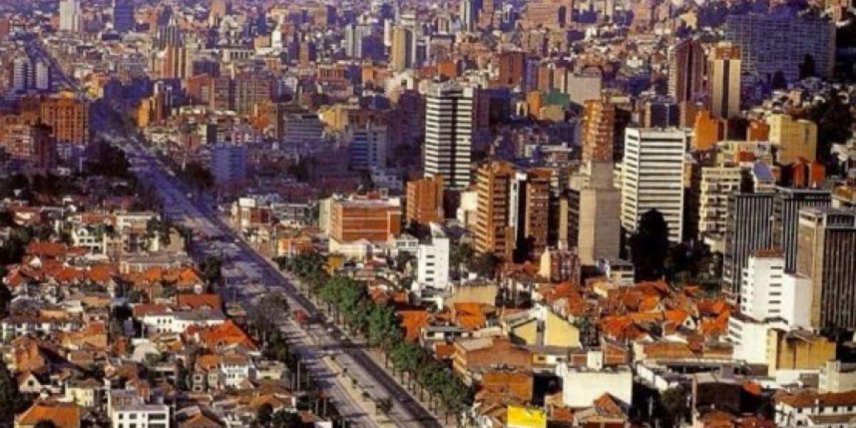 Esta es la Bogotá que amamos; sin trancones y sol 'full HD'