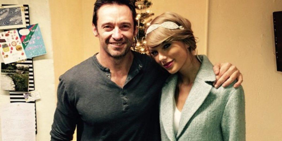 Taylor Swift pagó miles de dólares por una camiseta de Hugh Jackman