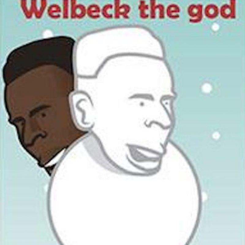 Danny Welbeck, jugador inglés del Arsenal. Foto:facebook.com/Justtoonit