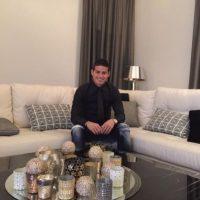 James Rodríguez, futbolista colombiano del Real Madrid. Foto:twitter.com/jamesdrodriguez