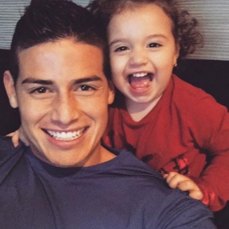 James la pasa de lo lindo con su familia. Foto:instagram.com/jamesrodriguez10