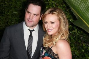 Mike Comrie y Hilary Duff