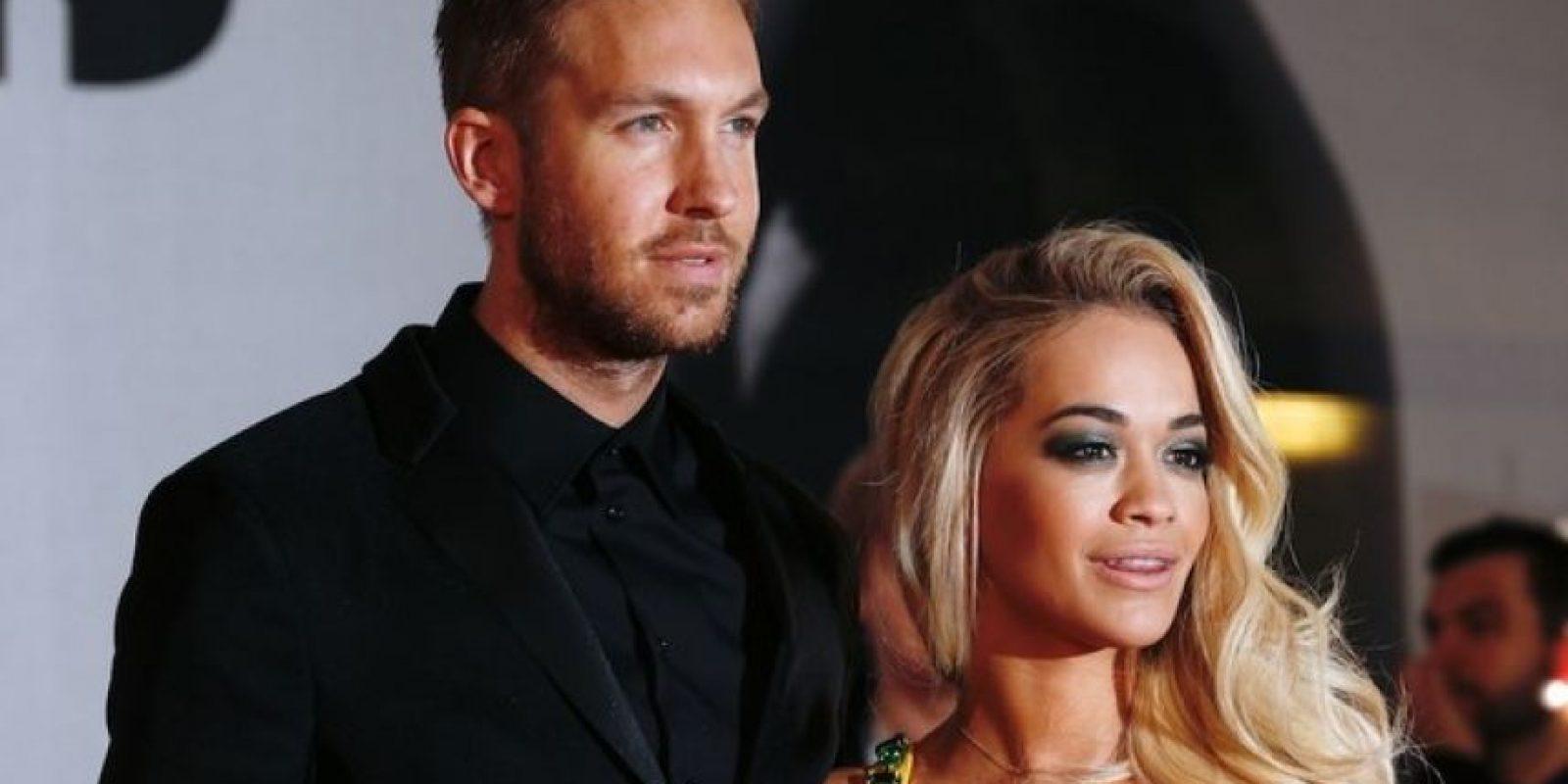 Calvin Harris y Rita Ora