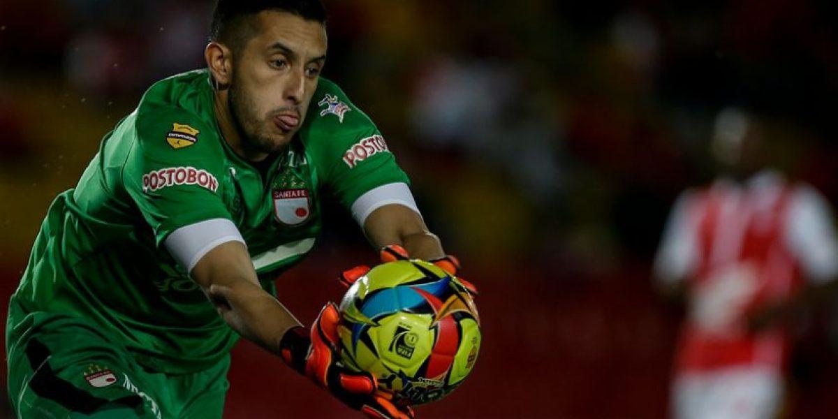 Santa Fe confirmó que Camilo Vargas es nuevo arquero de Nacional