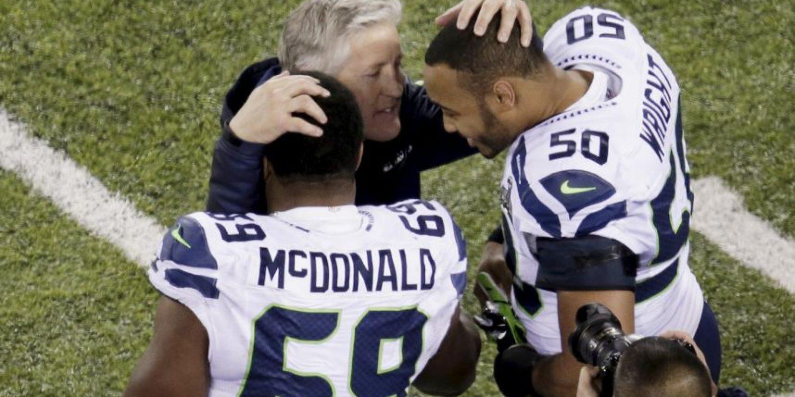 Los Seahawks de Seattle se llevaron el Super Bowl XLVIII sobre los Broncos de Denver Foto:Getty