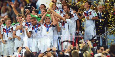 Alemania se coronó en el Mundial de Brasil Foto:Getty
