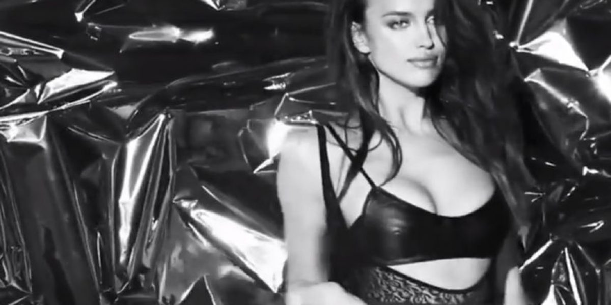 VIDEO: Irina Shayk despide el 2014 con atrevido striptease