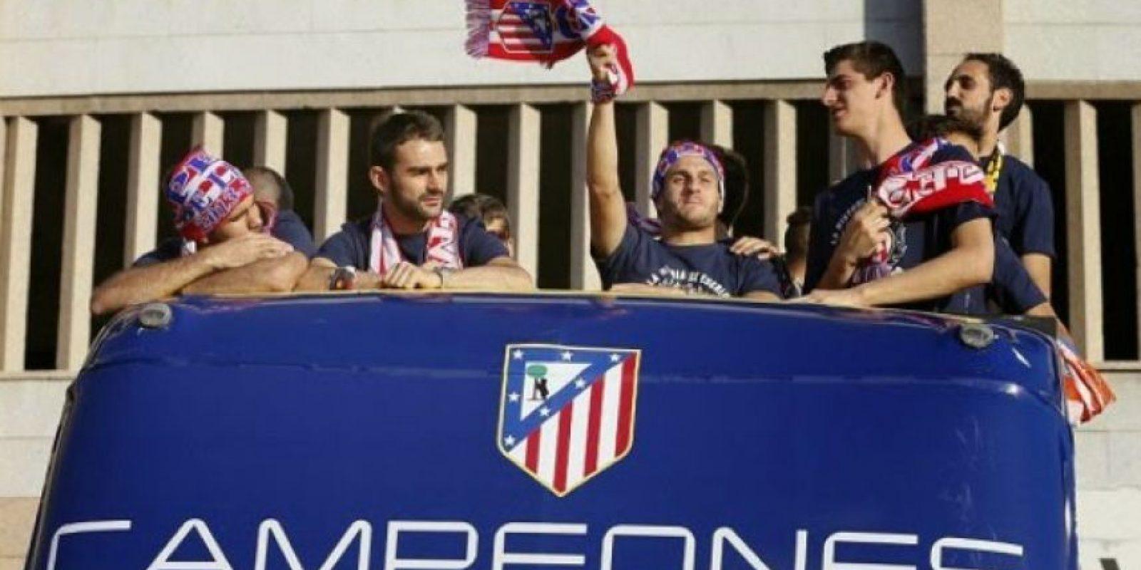 Atlético de Madrid terminó con el duopolio de Real Madrid y Barcelona en la Liga de España Foto:Getty