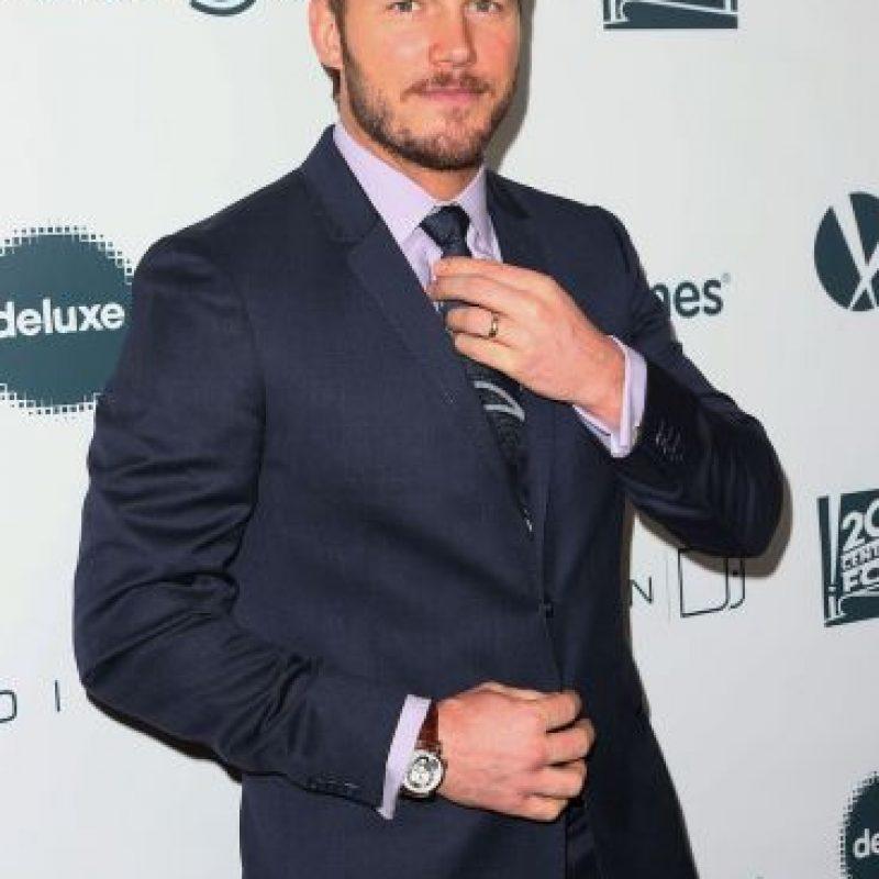 2- Chris Pratt (mil 200 millones de dólares). Foto:Getty Images