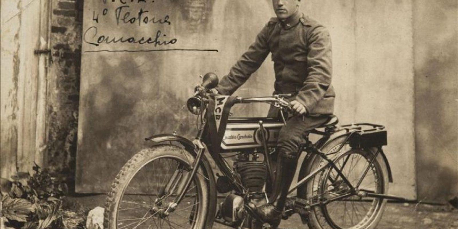 Fotografía facilitada por el Museo Hebreo de Roma, de Ermanno Jacchia, judío que luchó por Italia en la I Guerra Mundial y que sufrió posteriormente la persecución y la discriminación de la Italia fascista. EFE