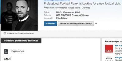 El perfil de Demy de Zeeuw en LinkedIn. Foto:LinkedIn