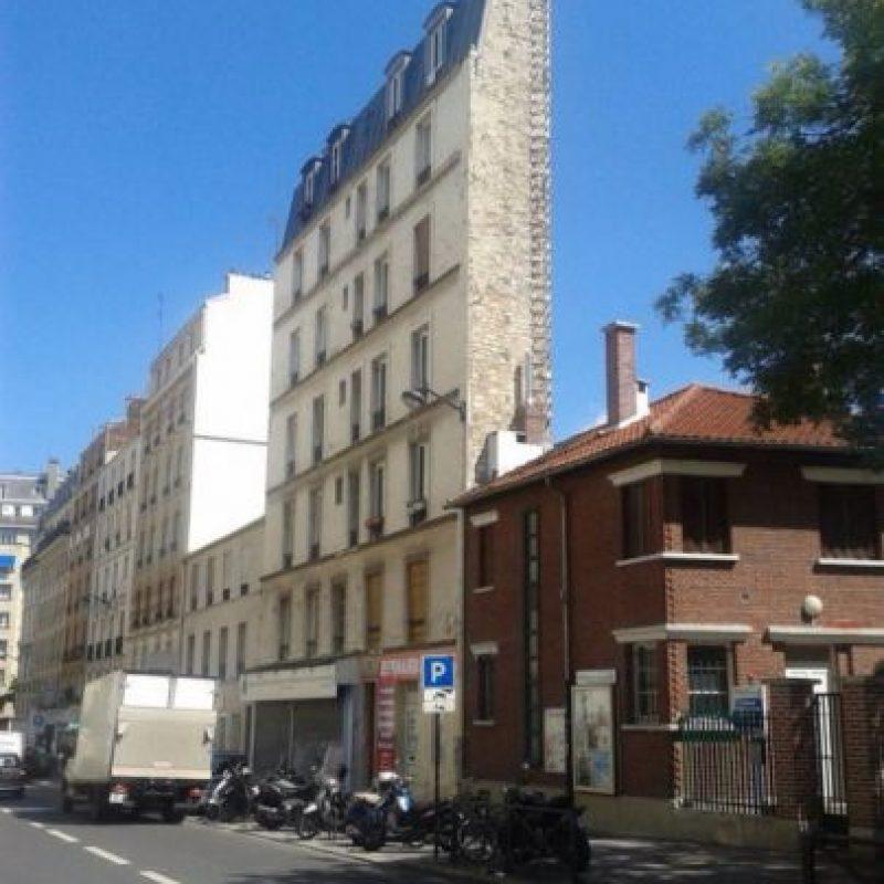 La estructura de este edificio