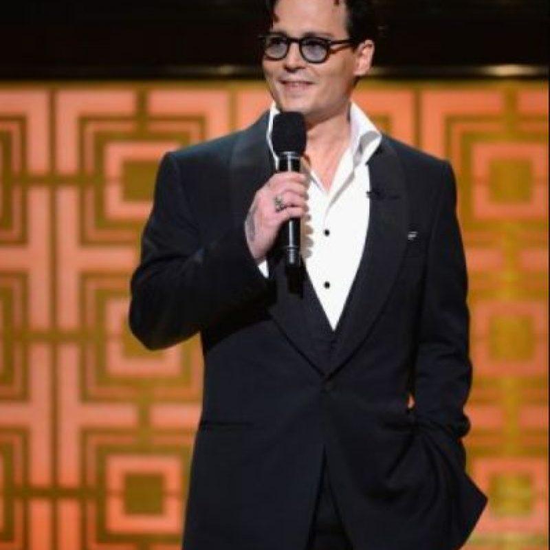 """El actor apareció en la pasada entrega de los """"Hollywood Press Awards"""" en estado de ebriedad. Foto:Getty Images"""