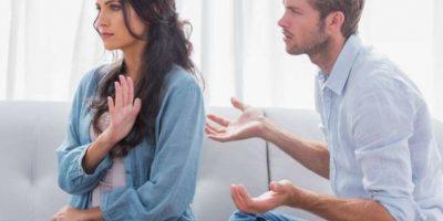 """Esta frase de miedo o hace que pensemos """"¿Ahora qué hice?"""" Eso a nadie le gusta. Foto:Tumblr.com/tagged-pareja-enojo"""