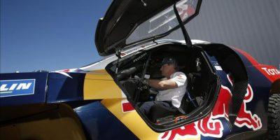 El piloto español de Peugeot Carlos Sainz. EFE