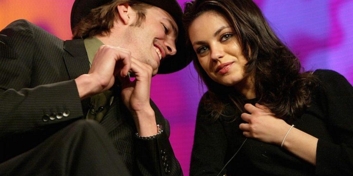¿Mila Kunis y Ashton Kutcher se casaron en secreto?