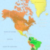 """En el grupo de mujeres con """"atractivo normal"""" destacan países de Europa Occidental, el Norte de África y países como China, Ecuador, México y Chile. Foto:TargetMap"""