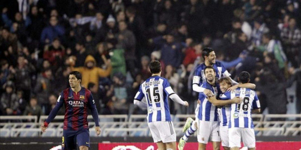 1-0. El Barça vuelve a caer derrotado en Anoeta por cuarto año consecutivo