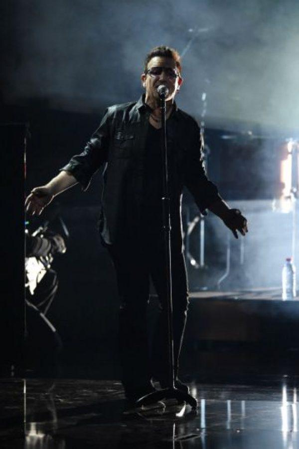 Estas son las últimas presentaciones de Bono, antes de su accidente Foto:Getty