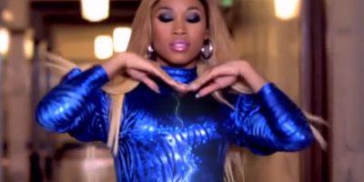 """Cameron canta al lado del rapero Ice en el adelanto del video de la canción """"Bye, Bye"""" Foto:WWE"""