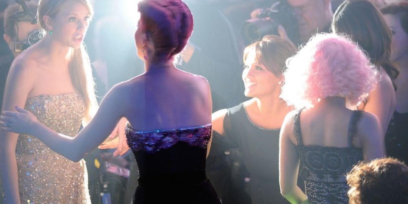 Eso no se hace, pensó Taylor. Sin embargo, Katy se defendió diciendo que primero estuvieron con ella. Foto:Getty Images