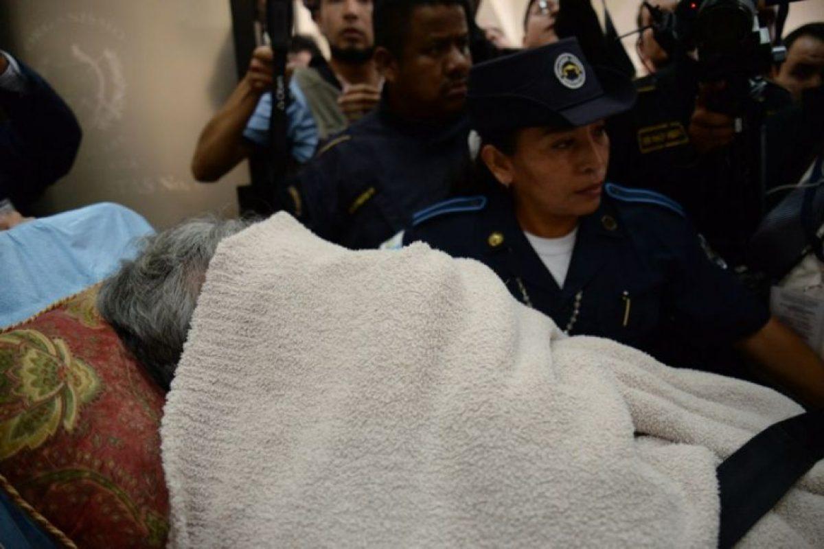 El ex dictador guatemalteco, Efraín Ríos Montt, se enfrentará de nueva cuenta a la justicia de aquél país Foto:AFP
