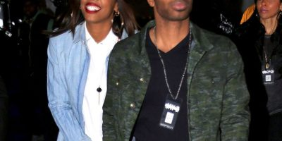 Kelly Rowland y Tim Witherspoon