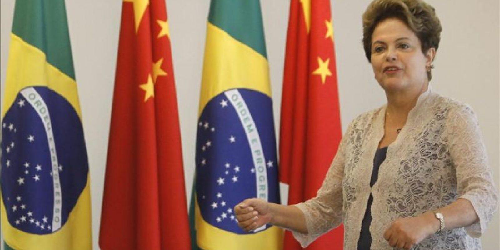 La mandataria brasileña, Dilma Rousseff. EFE/Archivo