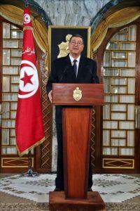 El nuevo primer ministro tunecino, el político y economista Habib Essid, pronuncia un discurso tras su encuentro con el presidente Beyi Caid Esebsi, en el Palacio Presidencial de Cartago en Túnez, hoy. EFE