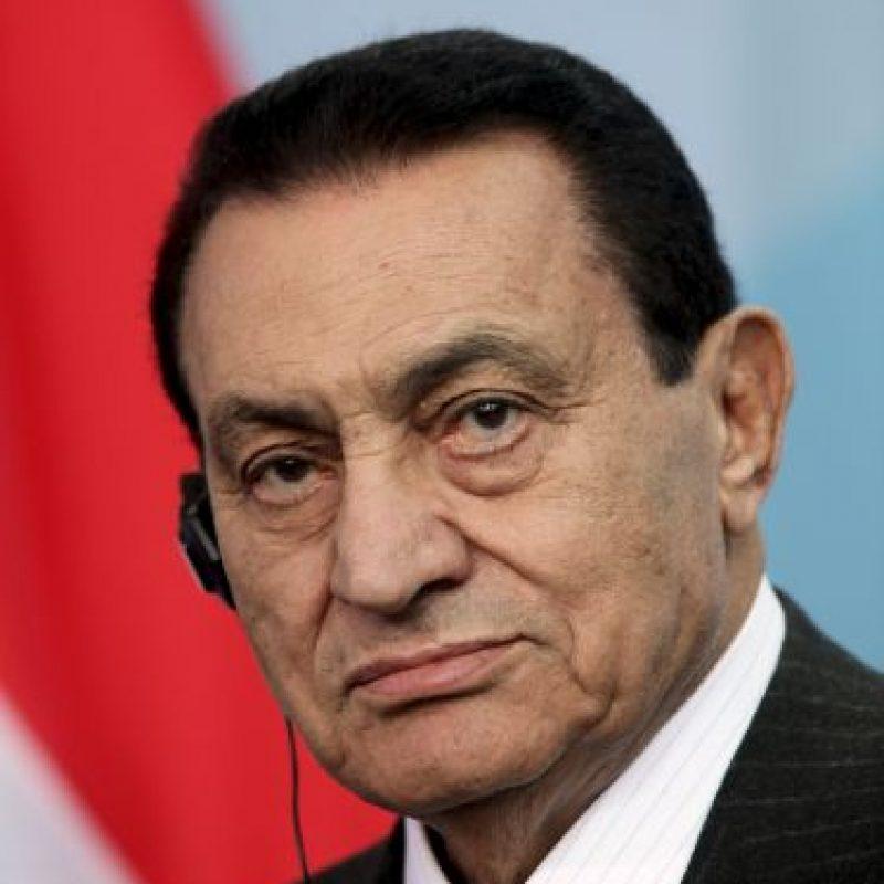 """Las protestas para derrocar al ex dictador egipcio fue el inicio de un movimiento social conocido como """"La Primavera Árabe"""", en 2011. Foto:Getty Images"""