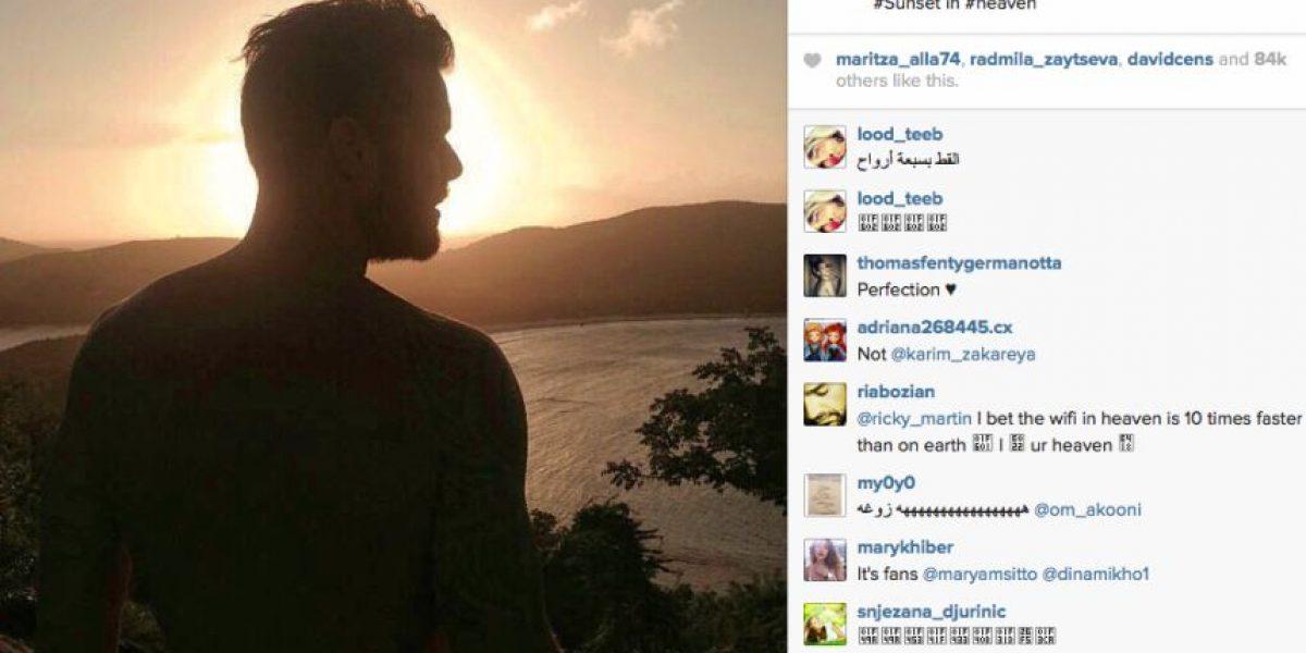 Ante rumores de su muerte, Ricky Martin