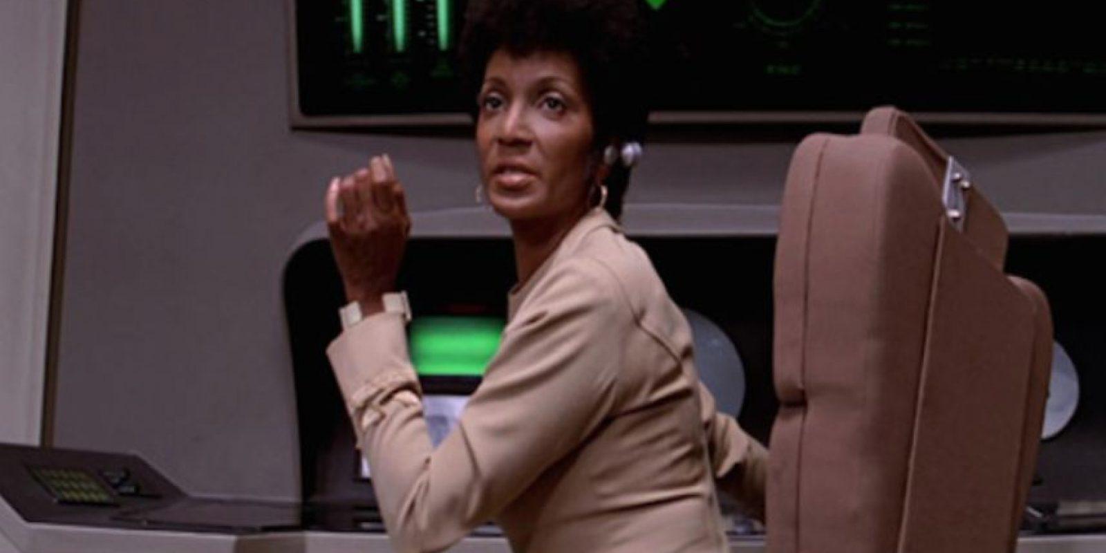 Uhura fue una de las primeras mujeres que conoció el Bluetooth Foto:YouTube