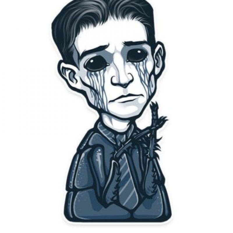 Kafka no es feliz. Él nunca es… Foto:Telegram