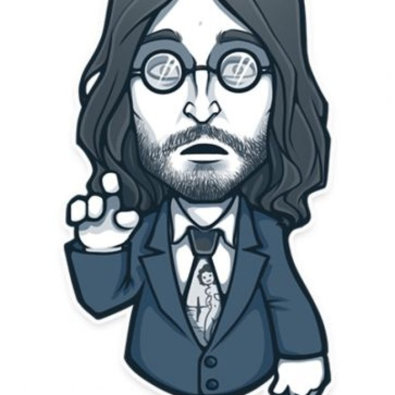 John Lennon, pero… Foto:Telegram