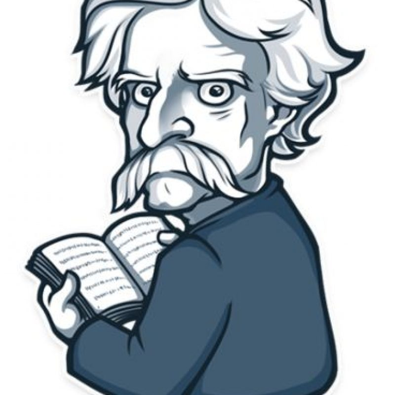 Mark Twain, huh? Foto: Telegram