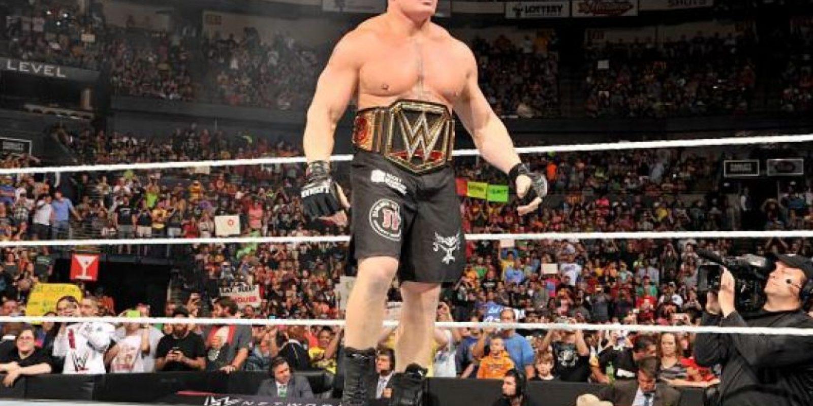 Pero no defiende el campeonato máximo de la empresa desde el Night of Champions del 21 de septiembre pasado Foto:WWE