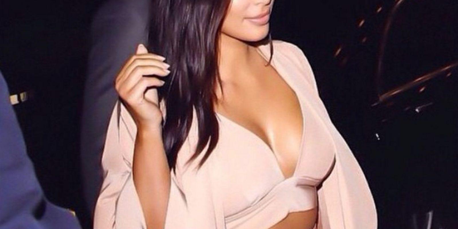 """Su popularidad aumentó a partir de enero de 2011 con el estreno de """"Kourtney and Kim Take New York"""" Foto:Instagram @kimkardashian"""