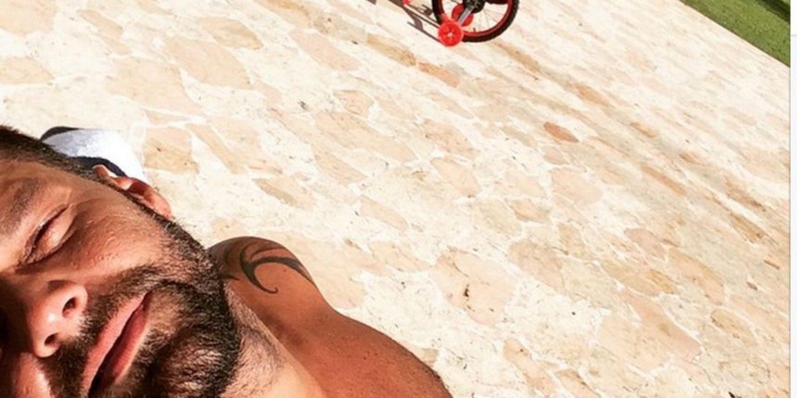 Tiene 43 años Foto:Instagram @ricky_martin