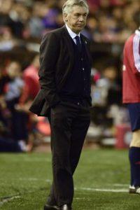 Carlo Ancelotti perdió el fin de semana con el Valencia, luego de sumar 22 triunfos consecutivos Foto:Getty