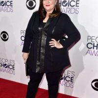 Melissa McCarthy también le apostó al negro Foto:Getty Images