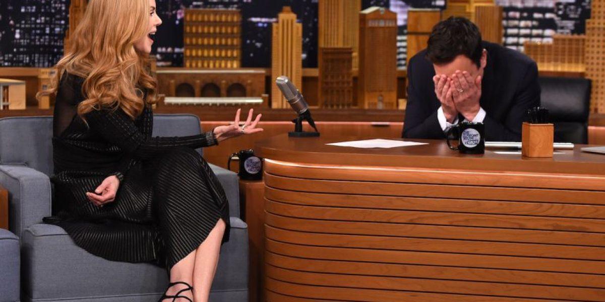 Nicole Kidman revela que le gustaba Jimmy Fallon y que él la ignoró