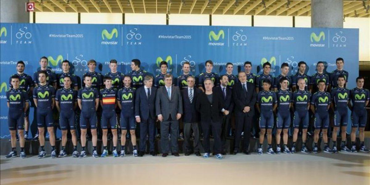 Movistar se presenta como candidato natural al Tour de Francia