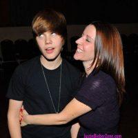 La cara de Justin lo dice todo. Foto:Twitter
