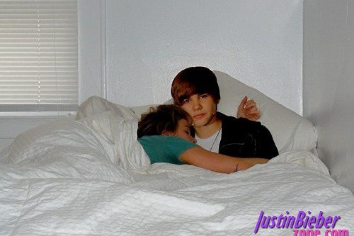 En tus dulces sueños te acompañará. Foto:Justin Bieber Zone