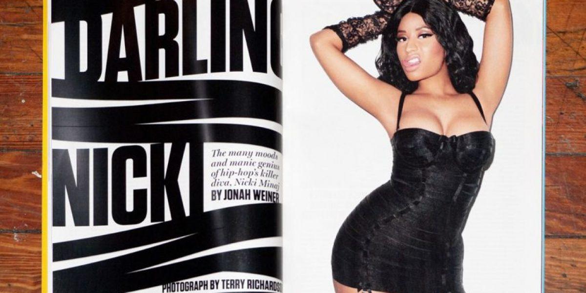 Famoso fotógrafo filtra imágenes inéditas de Nicki Minaj